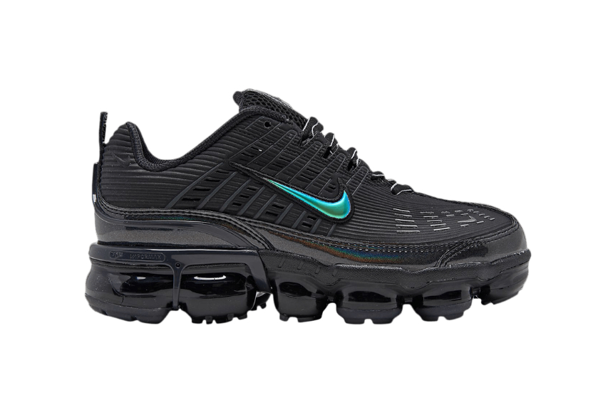 Nike Air VaporMax 360 Black Metallic Silver Womens ck2719-002
