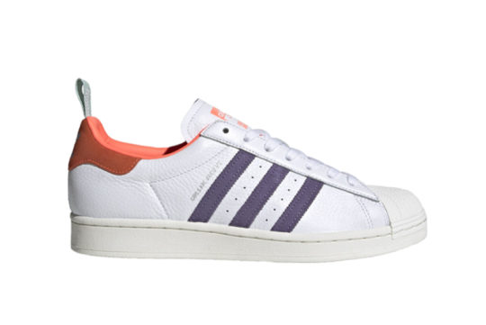 adidas Superstar Bold Girls Are Awesome Cloud White Signal Coral fw8087