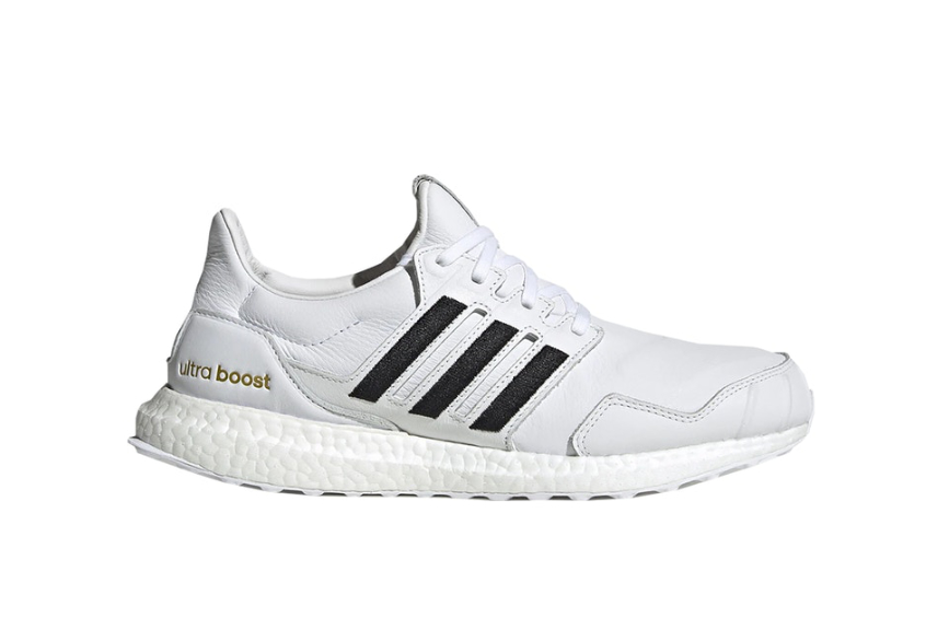 adidas UltraBOOST DNA Leather Black White eh1210