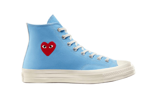 Comme des Garcons Play x Converse Chuck Taylor All Star 70 Blue 168300c