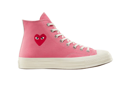Comme des Garcons Play x Converse Chuck Taylor All Star 70 Pink 168301c
