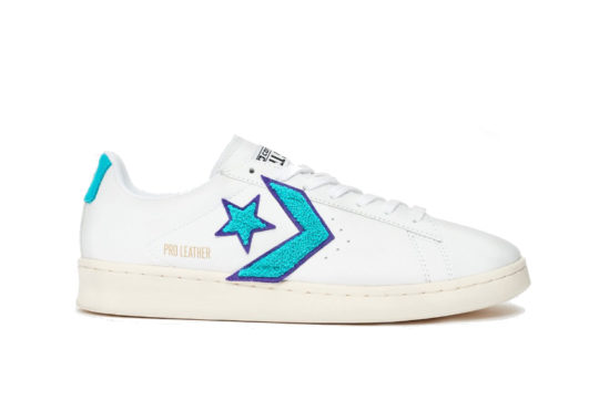 Converse Pro Leather Ox Blue White 167267c