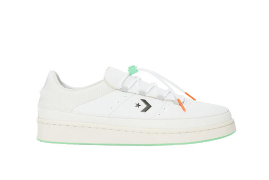 Converse Pro Leather Ox White Mint 166596c