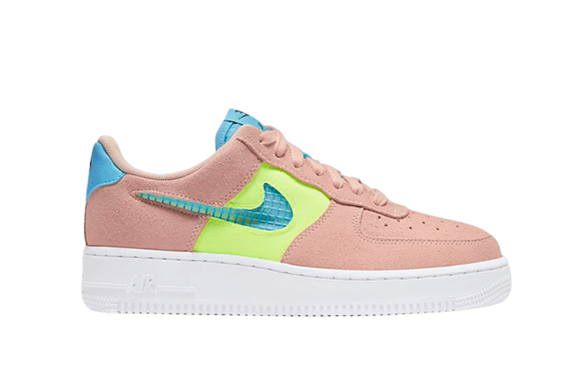 Nike Air Force 1 07 SE Washed Coral Ghost Green cj1647-600