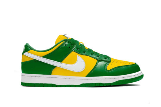 Nike Dunk Low SP Varsity Maize/Pine Green cu1727-700