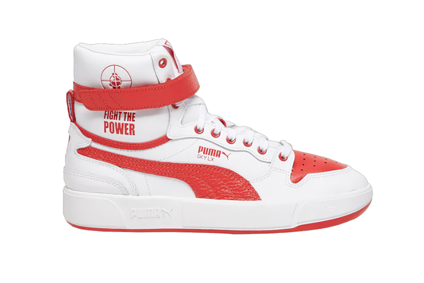 Public Enemy Puma Sky LX 'Fight The Power' White Red 374538-01