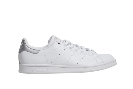 adidas Stan Smith White Silver Metallic aq2345