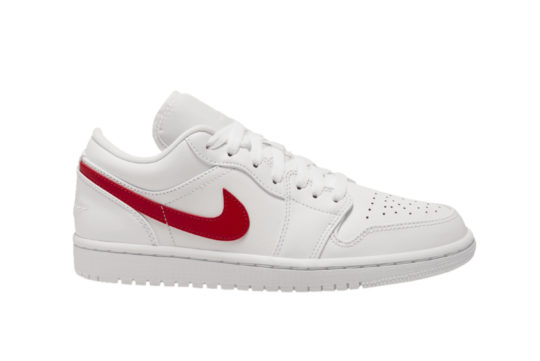 Jordan 1 Low White University Red ao9944-161