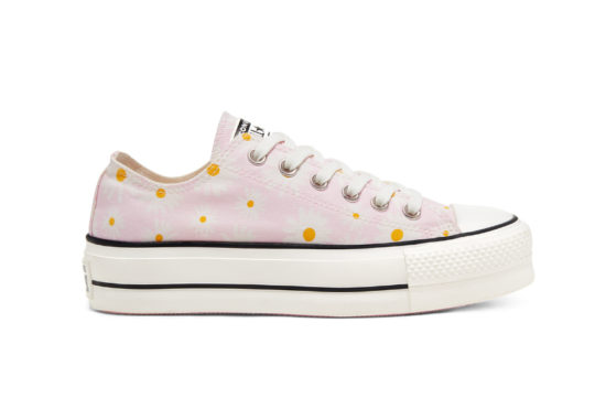 Converse Camp Daisies Platform Chuck Taylor All Star Low Pink 568934c