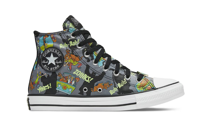 Scooby-Doo Converse Chuck Taylor All Star High Top 169073c
