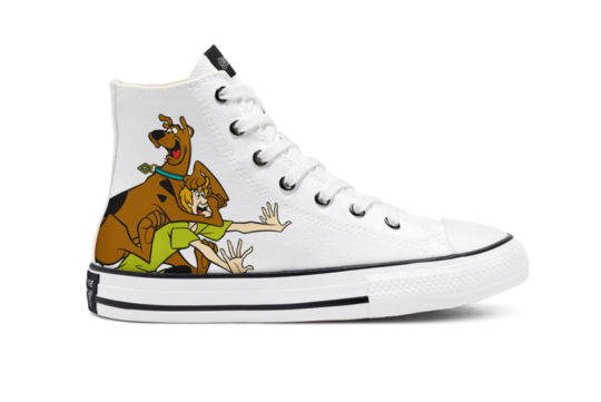 Scooby-Doo Converse Chuck Taylor All Star High Top Bear White 669077c