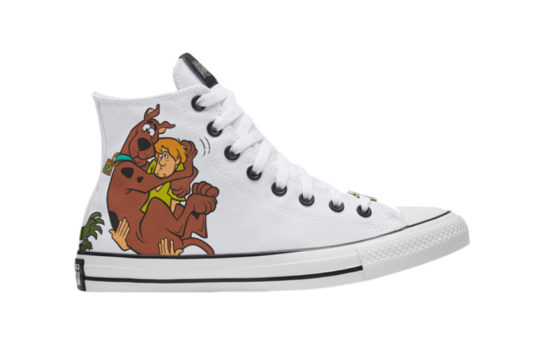 Scooby-Doo Converse Chuck Taylor All Star High Top Pastel White 169076c