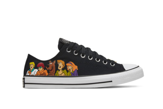Scooby-Doo Converse Chuck Taylor All Star Low Top Black 169079c