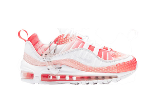Nike Air Max 98 Bubble Pack Track Red ci7379-600