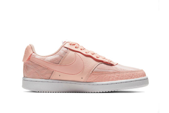 Nike Court Vision Low Premium Washed Coral ci7599-600