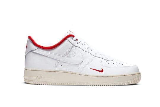 KITH x Nike Air Force 1 Low White University Red cz7926-100