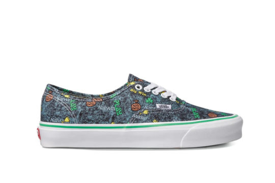 Vans Fergus Purcell Authentic LX Acid Wash Grey vn0a4bv90621