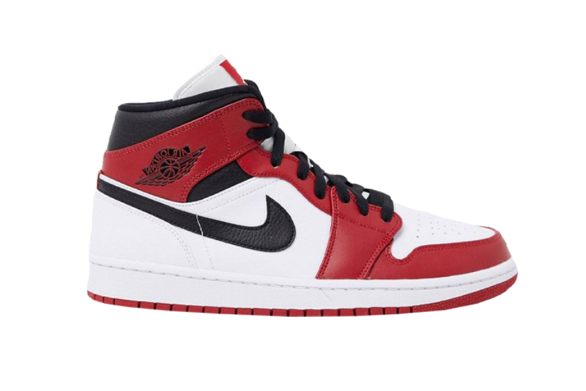 Jordan 1 Mid Chicago 2020 Red White : Release date, Price & Info