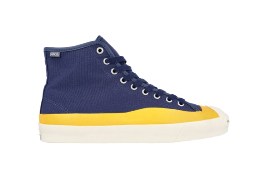 Pop Trading Co Converse Cons Jack Purcell Pro High Navy 169006c