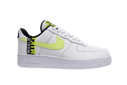 Nike Air Force 1 Low Worldwide White Volt ck6924-101