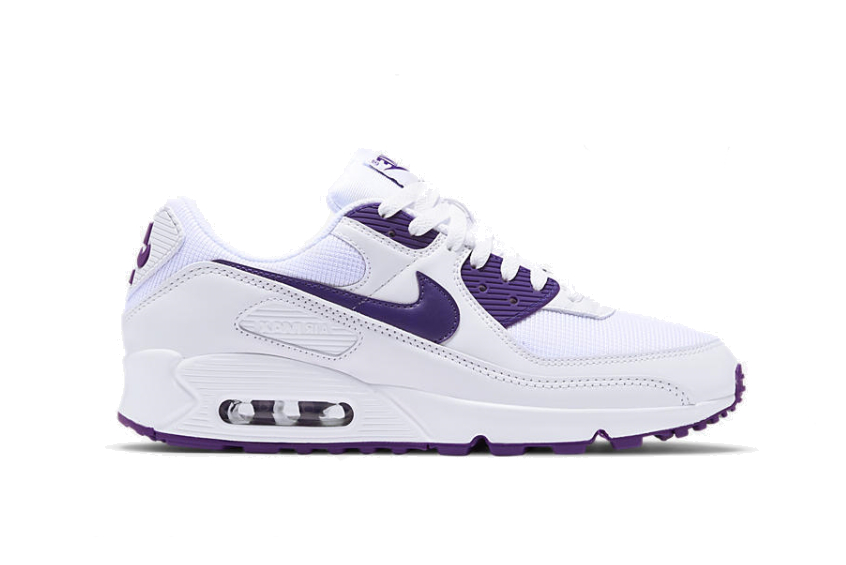 Nike Air Max 90 White Court Purple ct1028-100