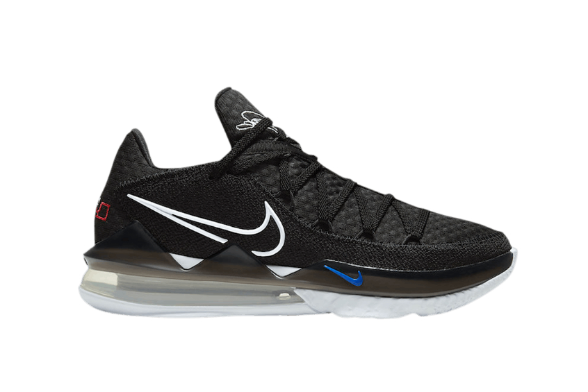 Nike LeBron 17 Low LeBron James Core Black cd5007-002