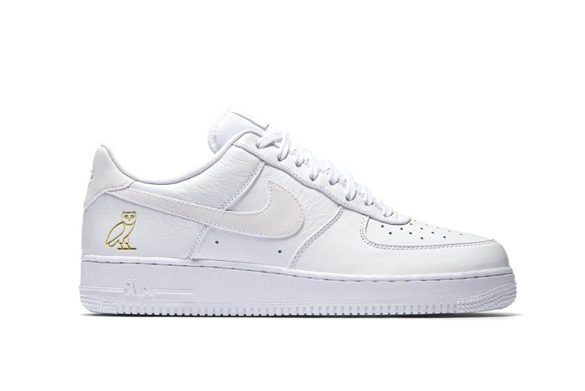 OVO x Nike Air Force 1 Low White : Release date, Price & Info