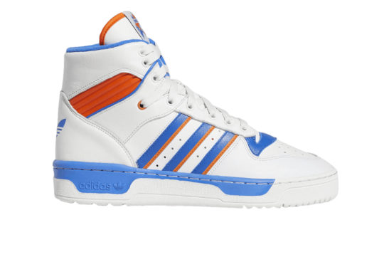 adidas Rivalry Hi Knicks White f34139