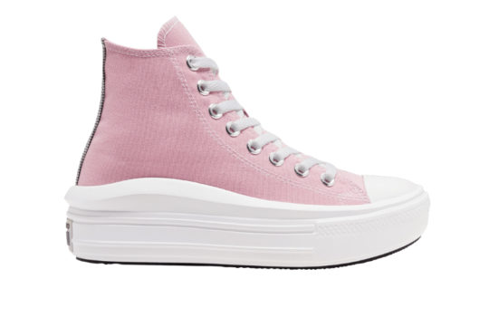 Converse Chuck Taylor All Star Move High Top Pink 568795c