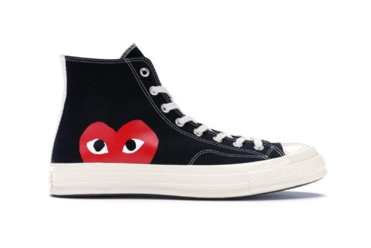 Comme des Garcons Play x Converse All Star Chuck Taylor Heart Black 150204c