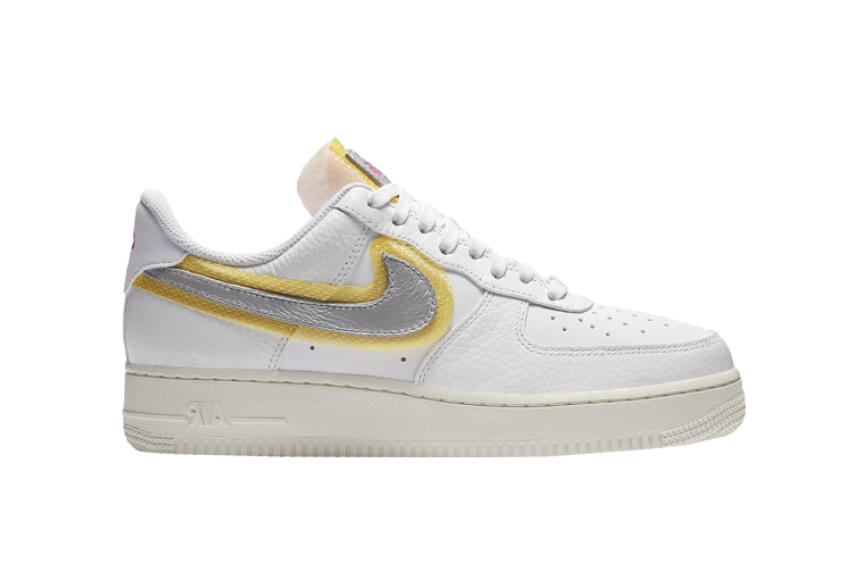 Nike Air Force 1 07 White University Gold : Release date