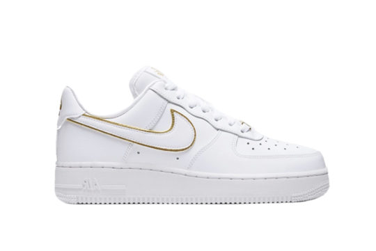 Nike Air Force 1 07 Worldwide White Metallic Gold da1343-170