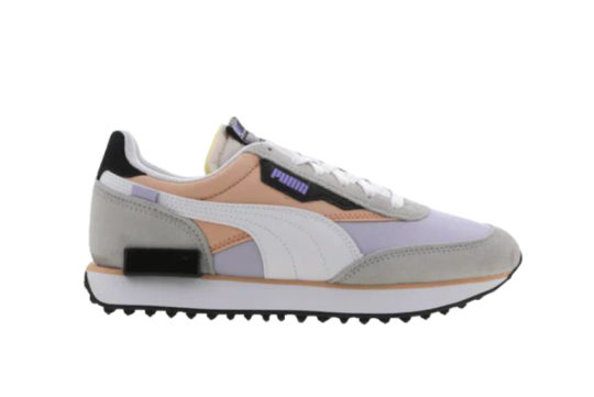 Puma Future Rider Asymetric White Pink Sand 374574-01