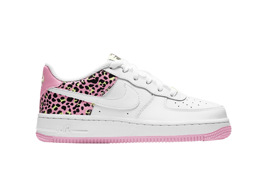 Nike Air Force 1 07 GS White Pink Rise : Release date, Price & Info