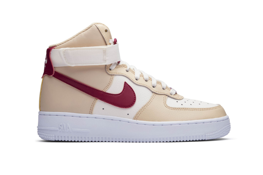 Nike Air Force 1 High White Onyx Red : Release date, Price & Info