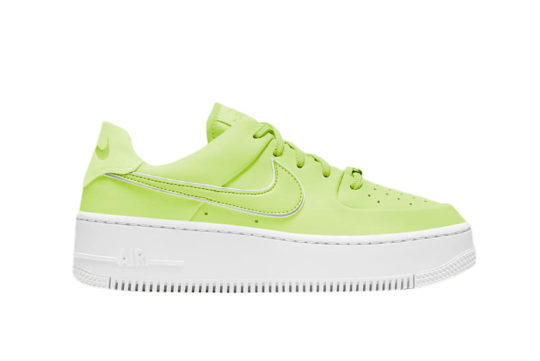 Nike Air Force 1 Sage Low Barely Volt cj1642-700