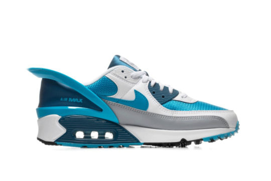 Nike Air Max 90 Flyease Laser Blue cz4270-100