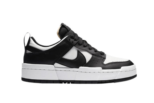 Nike Dunk Low Disrupt White Black ck6654-102