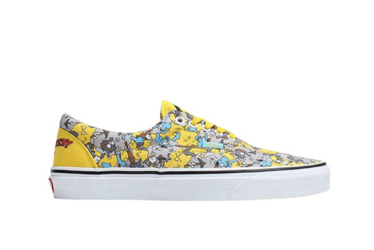 Simpsons Vans Pack Itchy & Scratchy Era Yellow Multi vn0a4bv41uf