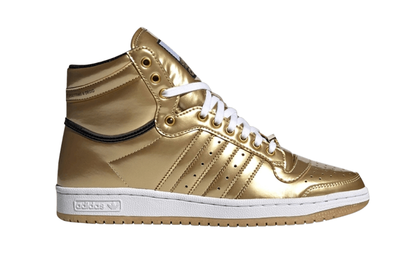Star Wars adidas Top Ten C-3PO Gold Metallic fy2458