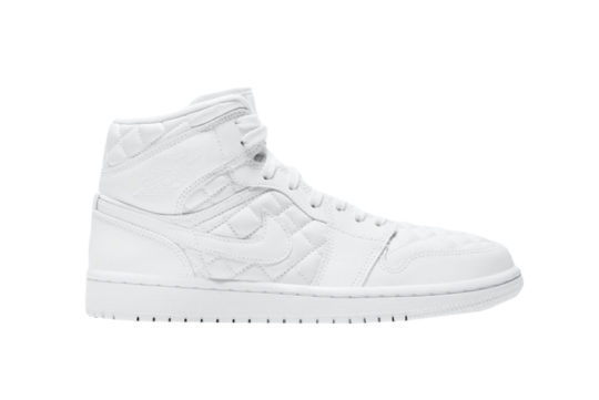 Jordan 1 Mid SE White Quilted db6078-100
