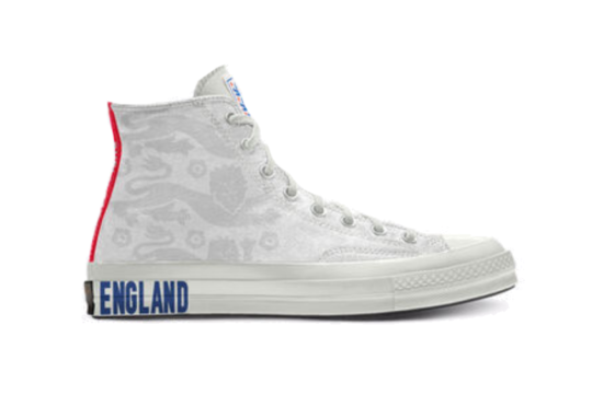 Converse Chuck 70 High Top England National Football Team By You 169737c