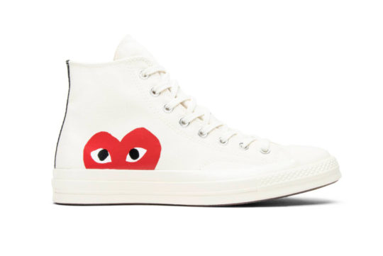 Comme des Garcons Play x Converse Chuck Taylor All Star 70 Hi White 150205c