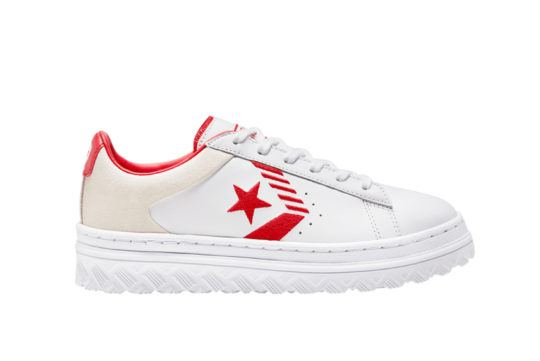 Converse Pro Leather X2 Low Top Rivals White University Red 168691c