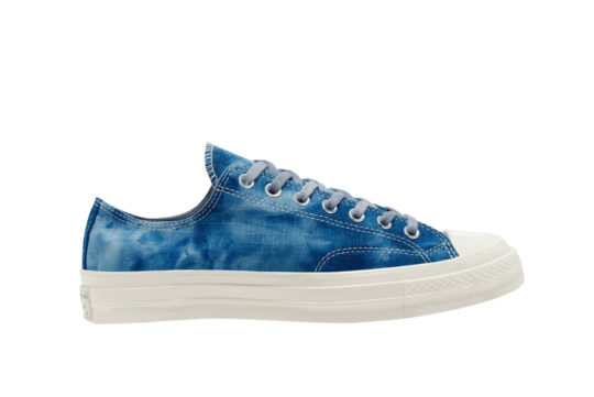 Twisted Vacation Converse Chuck 70 Low Top Washed Blue 167650c