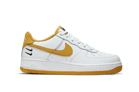 Nike Air Force 1 Low Dual Swoosh White Wheat dh2947-100