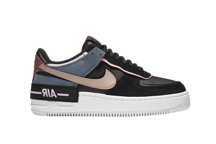 Nike Air Force 1 Shadow Black Metallic Red Bronze Release Date Price Info Dropping alongside the air force 1, nike makes sure to remind us with another 'be kind' release which is the air force 1 shadow. nike air force 1 shadow black metallic