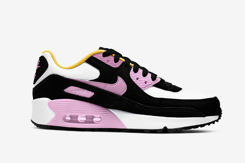 Nike Air Max 90 LTR GS Black Arctic Pink : Release date, Price & Info