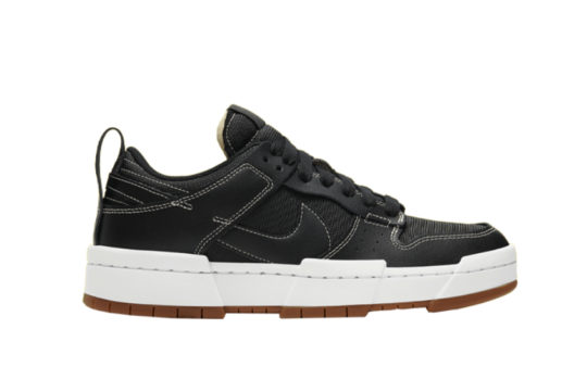 Nike Dunk Low Disrupt Black White ck6654-002