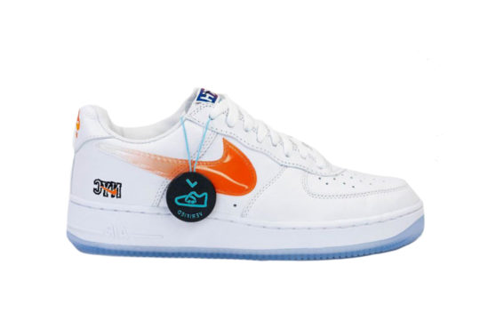Kith x Nike Air Force 1 Low NYC White Blue cz7928-100